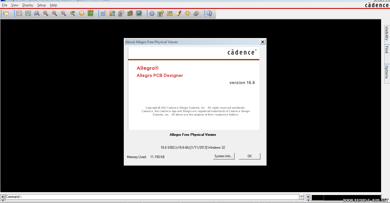Allegro FREE Physical Viewer VER:16 6 - Схемы и Service Manual